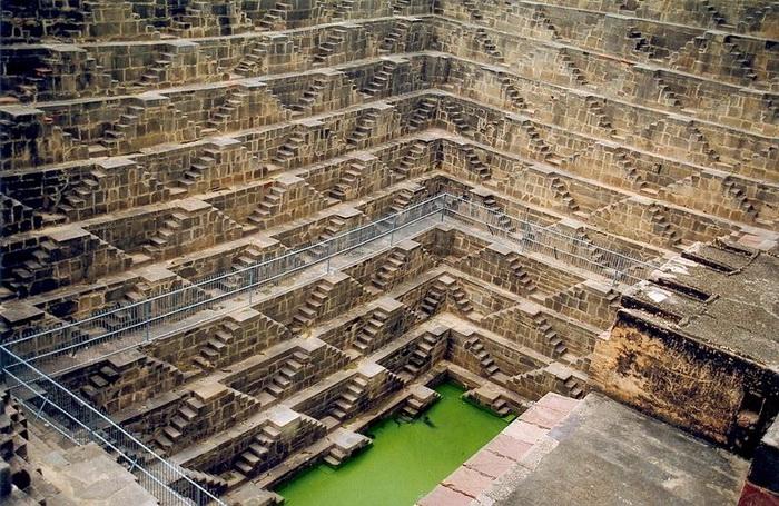 Колодязь Чанд Баорі - індійське архітектурне диво (1)