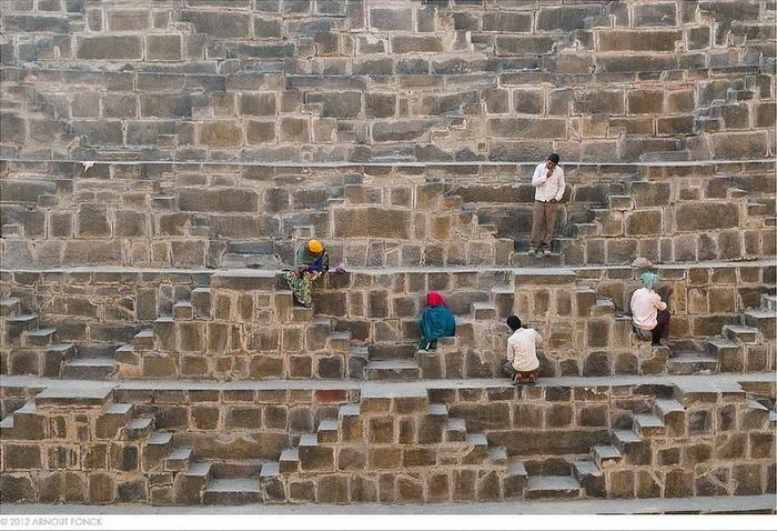 Колодязь Чанд Баорі - індійське архітектурне диво (3)