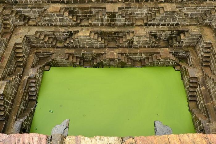 Колодязь Чанд Баорі - індійське архітектурне диво (5)