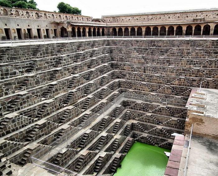 Колодязь Чанд Баорі - індійське архітектурне диво (6)