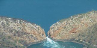 Горизонтальні водоспади - природний феномен Австралії (1)