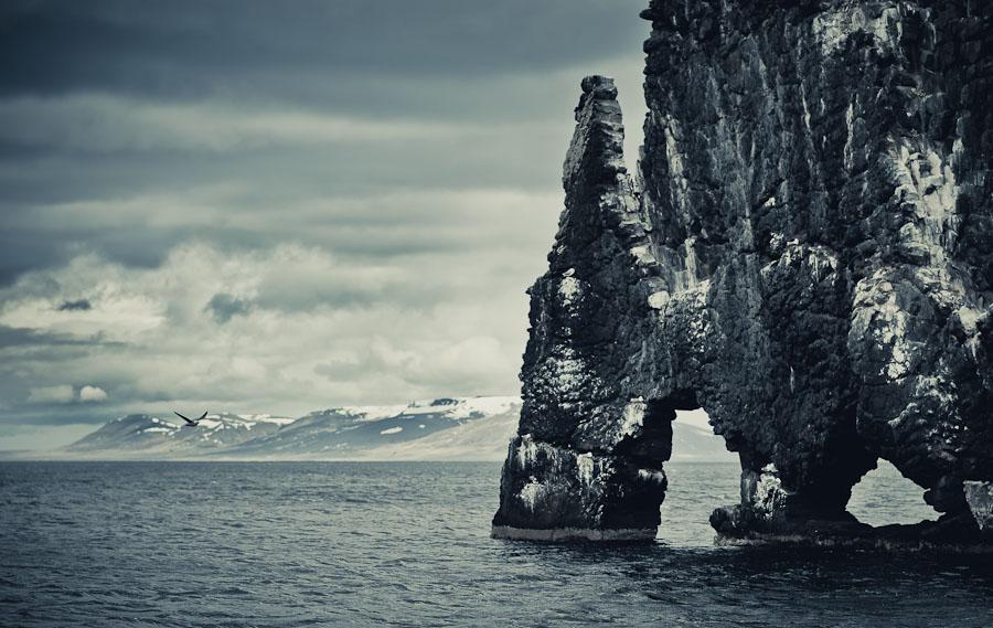 Містична скеля Хвітсеркур (Hvitserkur) (5)