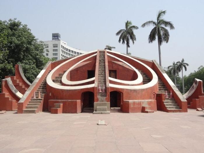 """Архітектурне диво: """"Jantar Mantars"""" - стародавній комплекс обсерваторій в Індії (5)"""