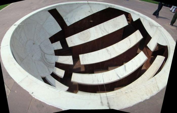"""Архітектурне диво: """"Jantar Mantars"""" - стародавній комплекс обсерваторій в Індії (6)"""