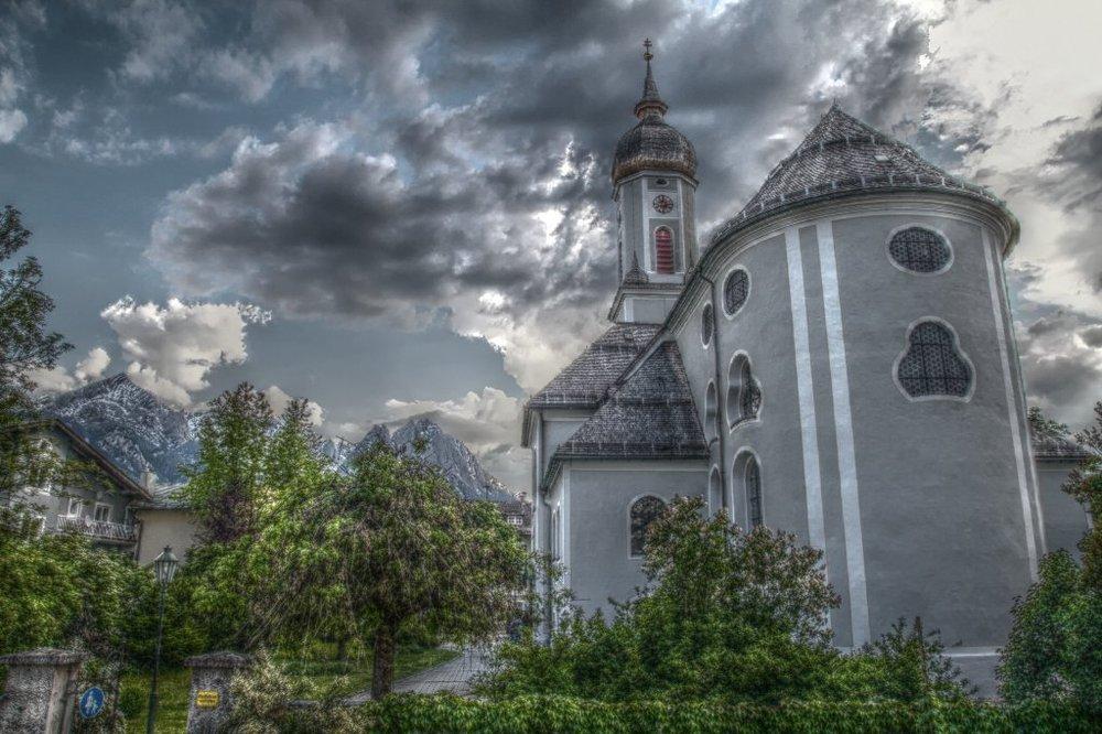 Альпійський містечко Гарміш-Партенкірхен (10)