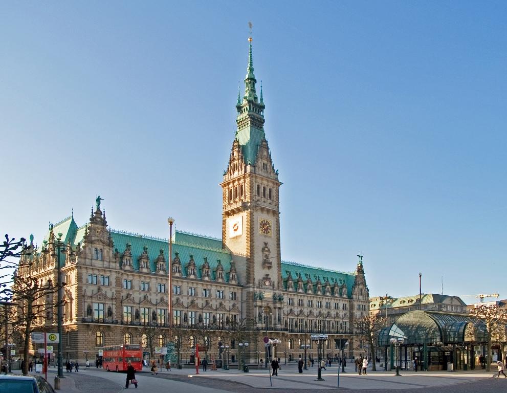 Міська Ратуша Гамбурга (1)