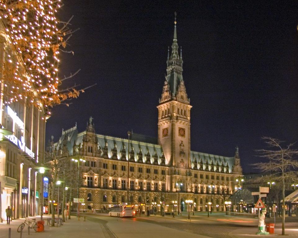 Міська Ратуша Гамбурга (3)