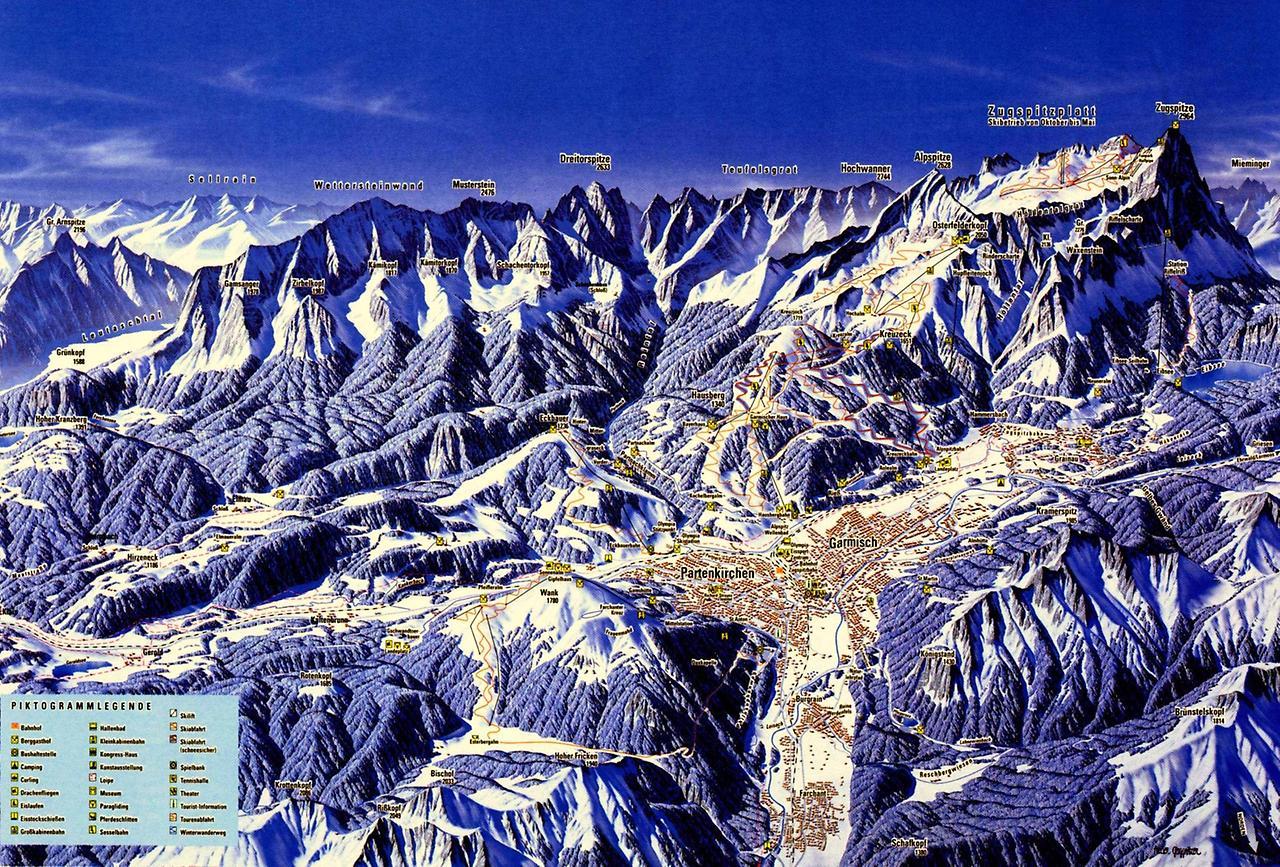 Альпійський містечко Гарміш-Партенкірхен (2)