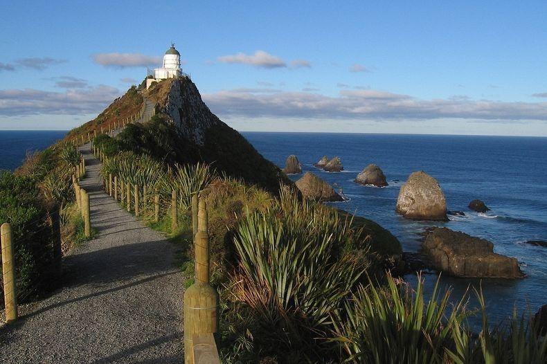 Маяк Наггет Поінт в Новій Зеландії (3)