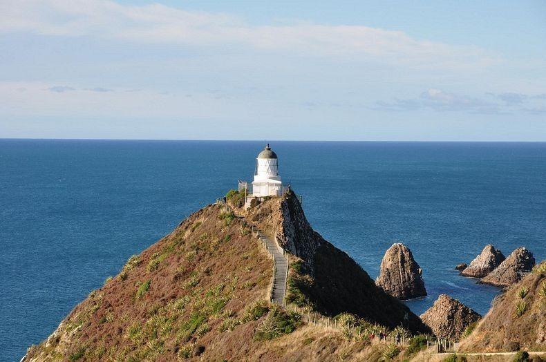 Маяк Наггет Поінт в Новій Зеландії (4)