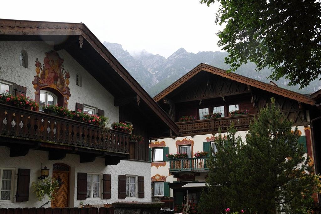 Альпійський містечко Гарміш-Партенкірхен (5)