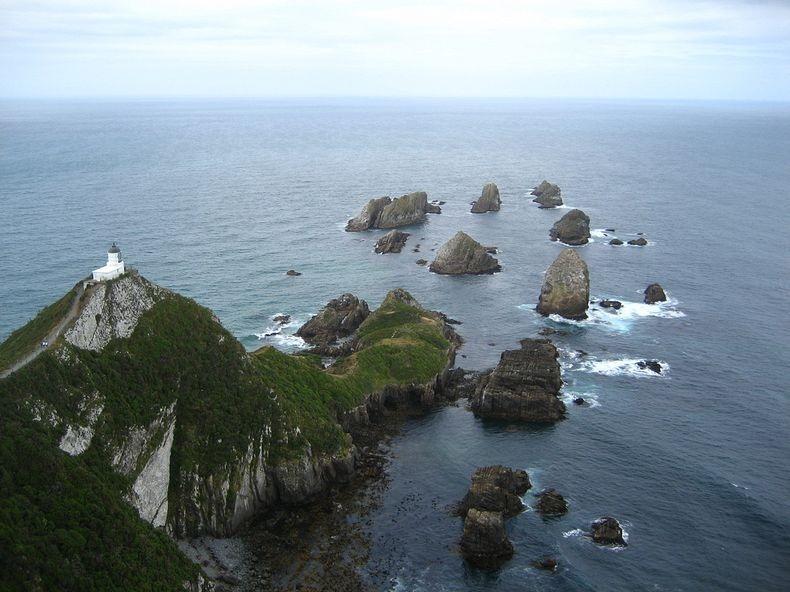 Маяк Наггет Поінт в Новій Зеландії (5)