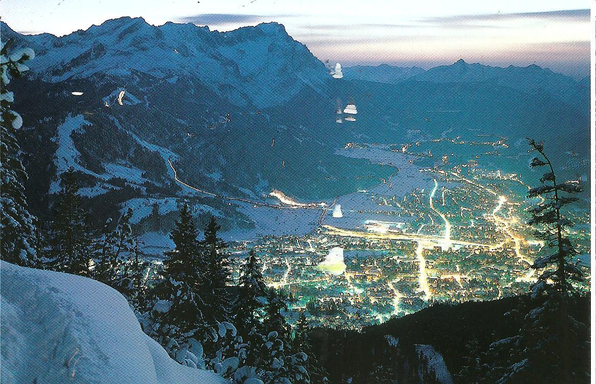 Альпійський містечко Гарміш-Партенкірхен (7)