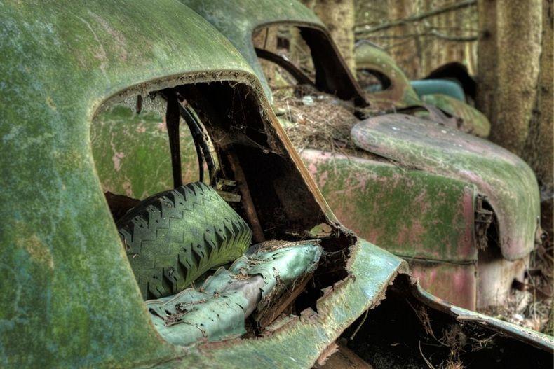 Цвинтар автомобілів Шатільйон (2)