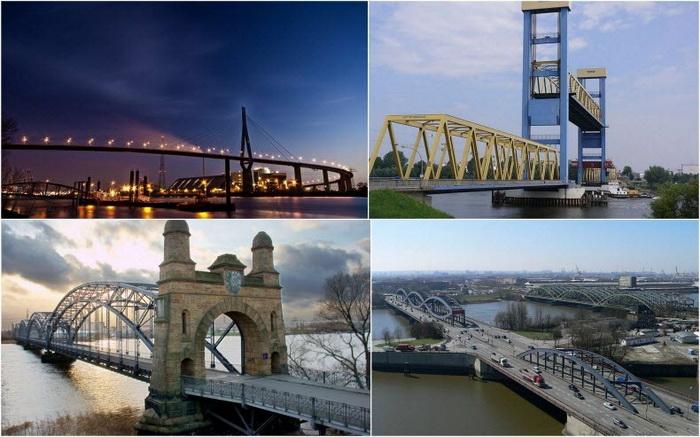 Гамбург - місто, в якому налічується 2500 мостів (4)