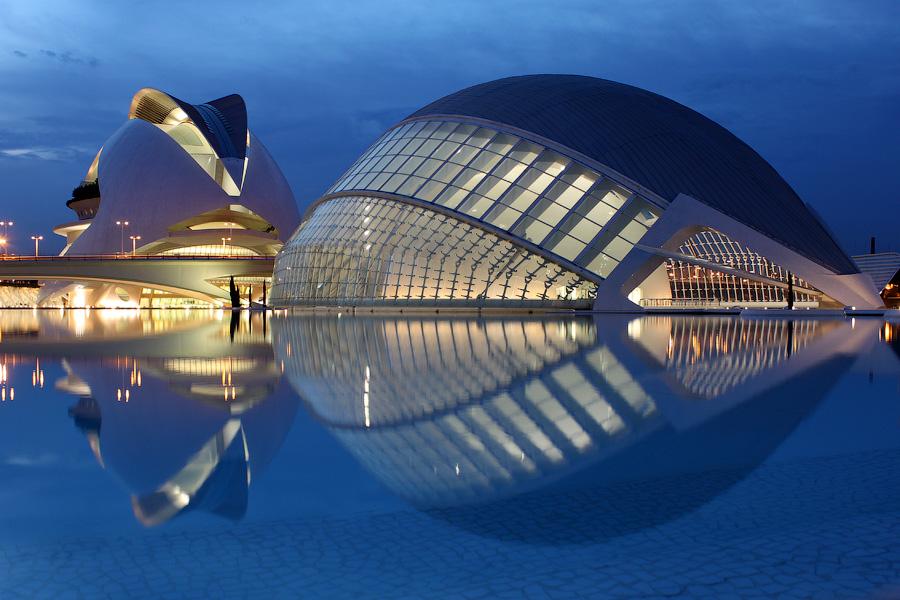 Місто науки і мистецтва - там, де шуміла річка ... Іспанія, Валенсія (2)