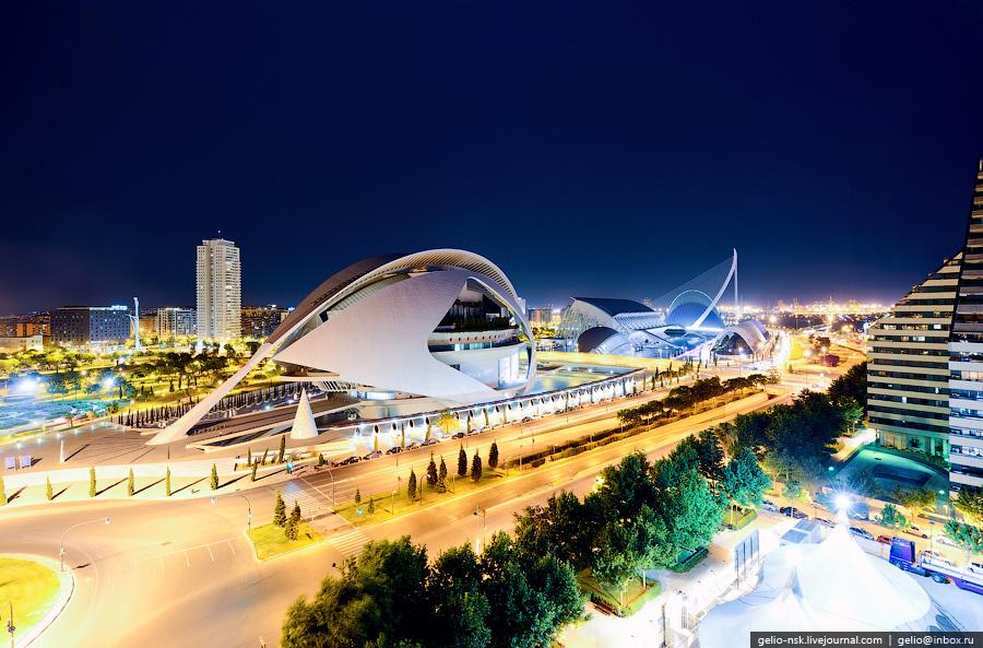 Місто науки і мистецтва - там, де шуміла річка ... Іспанія, Валенсія (1)