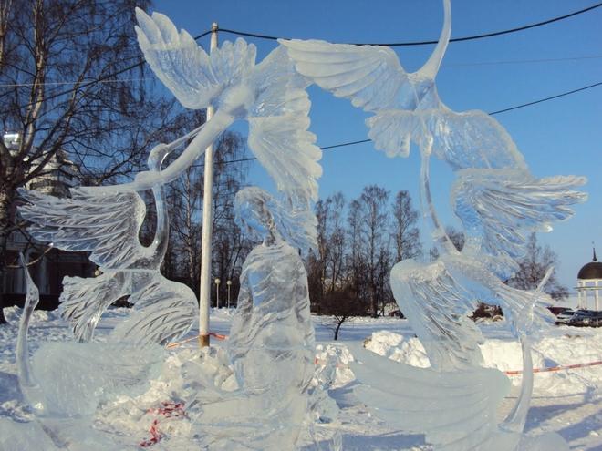 Вражаючі крижані скульптури (2)