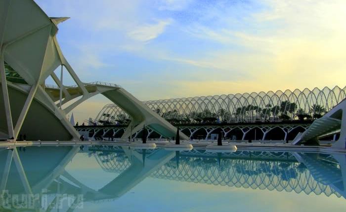 Місто науки і мистецтва - там, де шуміла річка ... Іспанія, Валенсія (15)