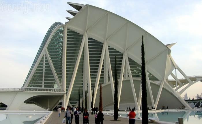 Місто науки і мистецтва - там, де шуміла річка ... Іспанія, Валенсія (6)