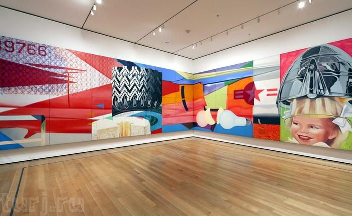 МОМА - музей сучасного мистецтва в суперсучасному будинку (5)