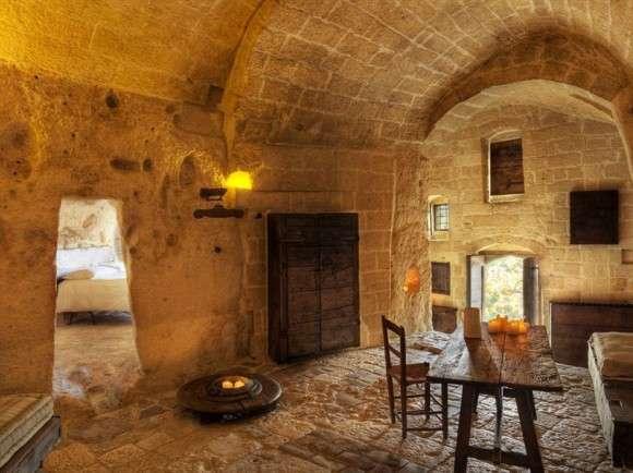 Готелі у печерному стилі (2)