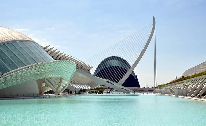Місто науки і мистецтва - там, де шуміла річка ... Іспанія, Валенсія (7)