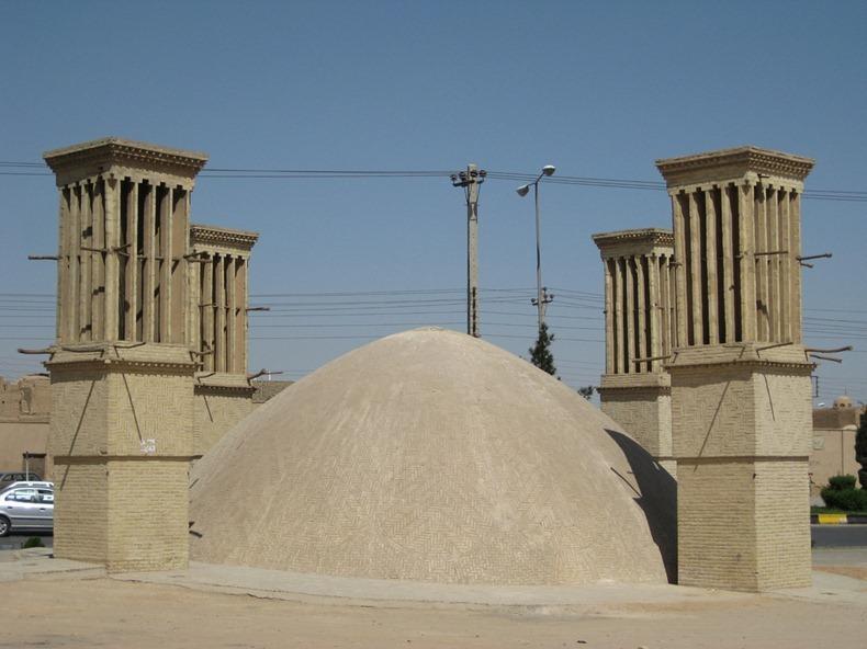 Древня архітектура Ірану. Крижані будинки (3)