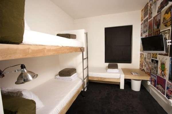 Цікавий готель Boho Hostel (4)
