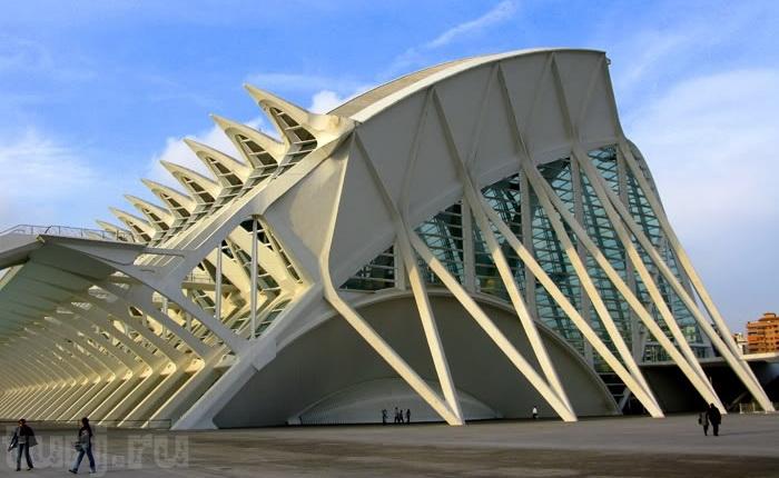 Місто науки і мистецтва - там, де шуміла річка ... Іспанія, Валенсія (10)