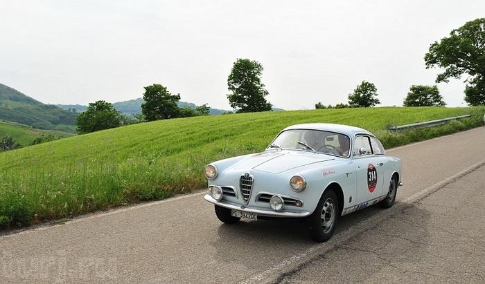 Італія: Mille Miglia - тисяча миль на ретро-автомобілі (4)