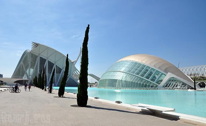 Місто науки і мистецтва - там, де шуміла річка ... Іспанія, Валенсія (12)