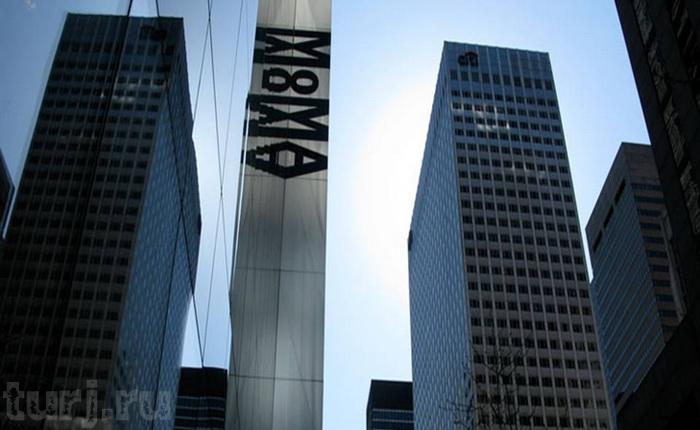 МОМА - музей сучасного мистецтва в суперсучасному будинку (4)