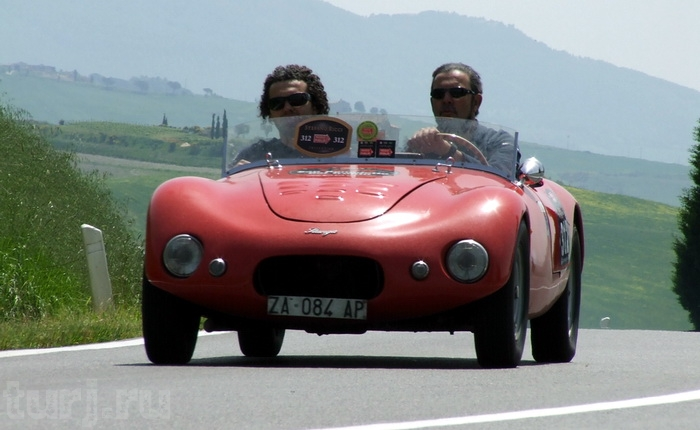 Італія: Mille Miglia - тисяча миль на ретро-автомобілі (6)