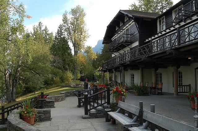 Готель Lake McDonald Lodge, США. (2)
