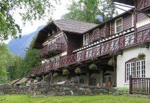 Готель Lake McDonald Lodge, США. (1)