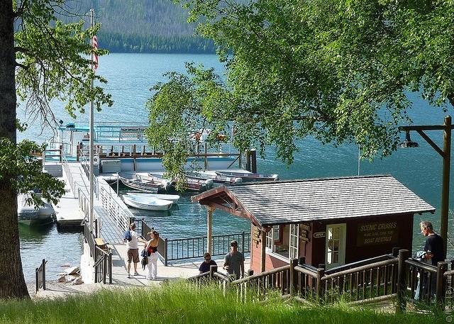 Готель Lake McDonald Lodge, США. (4)