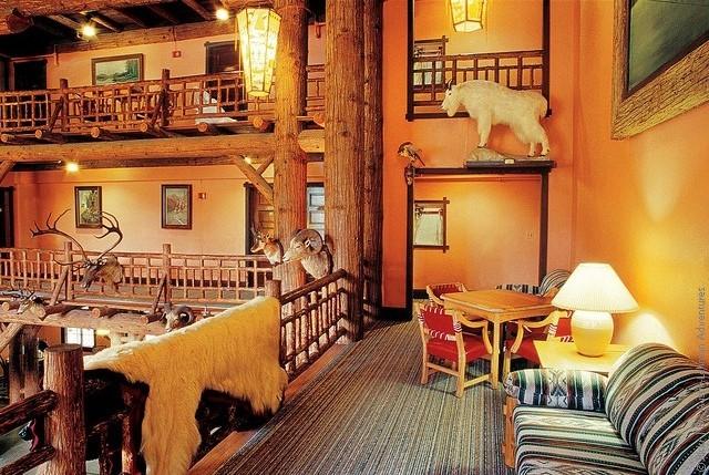 Готель Lake McDonald Lodge, США. (8)