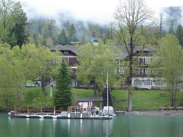 Готель Lake McDonald Lodge, США. (11)