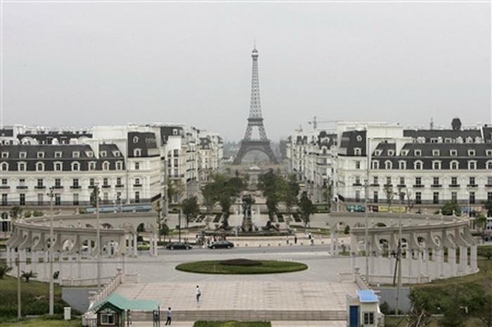 """Китайське місто з французьким шармом: Тіандученг - """"маленький Париж"""" made in China (1)"""