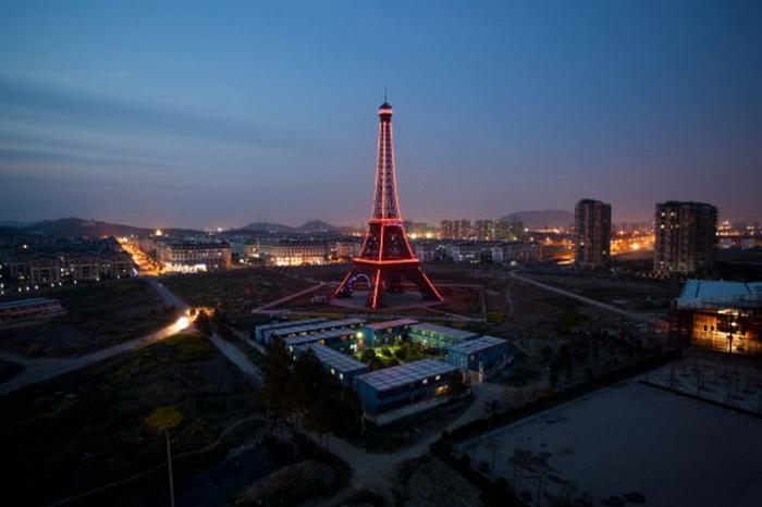 """Китайське місто з французьким шармом: Тіандученг - """"маленький Париж"""" made in China (3)"""