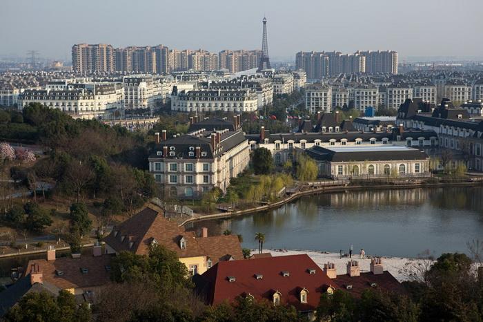"""Китайське місто з французьким шармом: Тіандученг - """"маленький Париж"""" made in China (4)"""