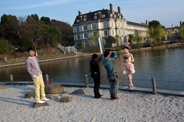 """Китайське місто з французьким шармом: Тіандученг - """"маленький Париж"""" made in China (5)"""