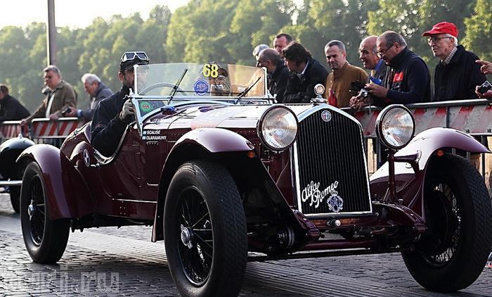 Італія: Mille Miglia - тисяча миль на ретро-автомобілі (2)