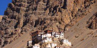 Буддійський монастир Ки гомпа - не те форпост, не то храм з тисячолітньою історією (2)