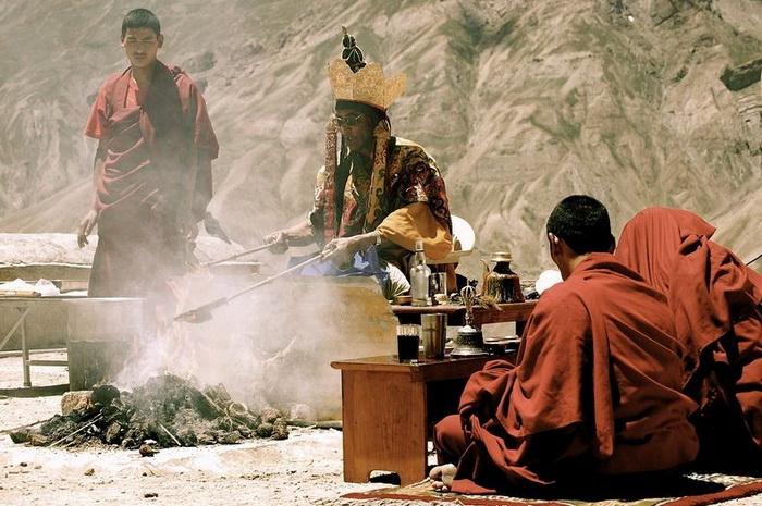 Буддійський монастир Ки гомпа - не те форпост, не то храм з тисячолітньою історією (3)