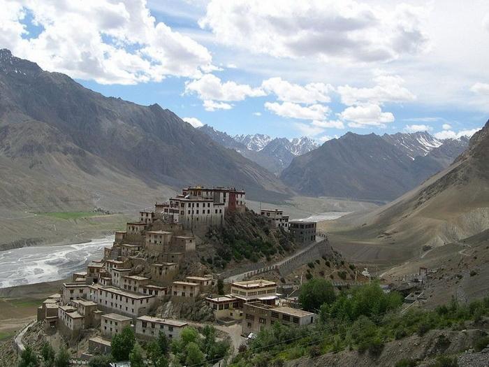 Буддійський монастир Ки гомпа - не те форпост, не то храм з тисячолітньою історією (4)