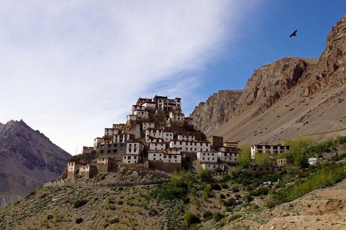 Буддійський монастир Ки гомпа - не те форпост, не то храм з тисячолітньою історією (5)