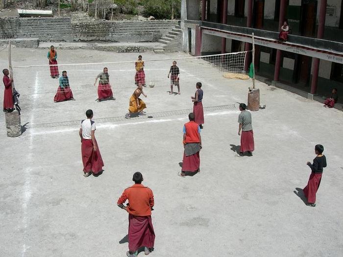 Буддійський монастир Ки гомпа - не те форпост, не то храм з тисячолітньою історією (6)