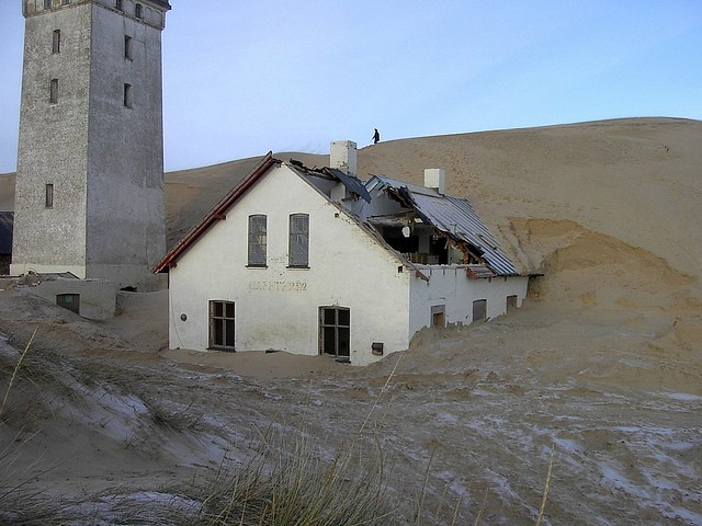 Закинутий маяк Руб'єрг Кнуд, Данія. (9)